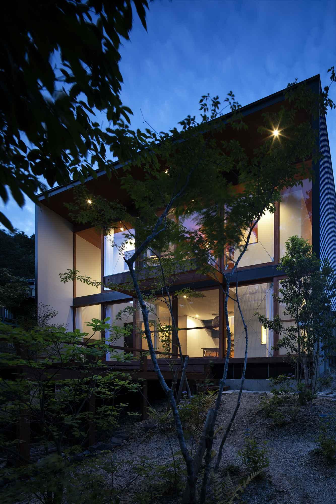 軒の繋がる家|愛知県犬山市|建築家×工務店のNatureスペース注文住宅施工事例