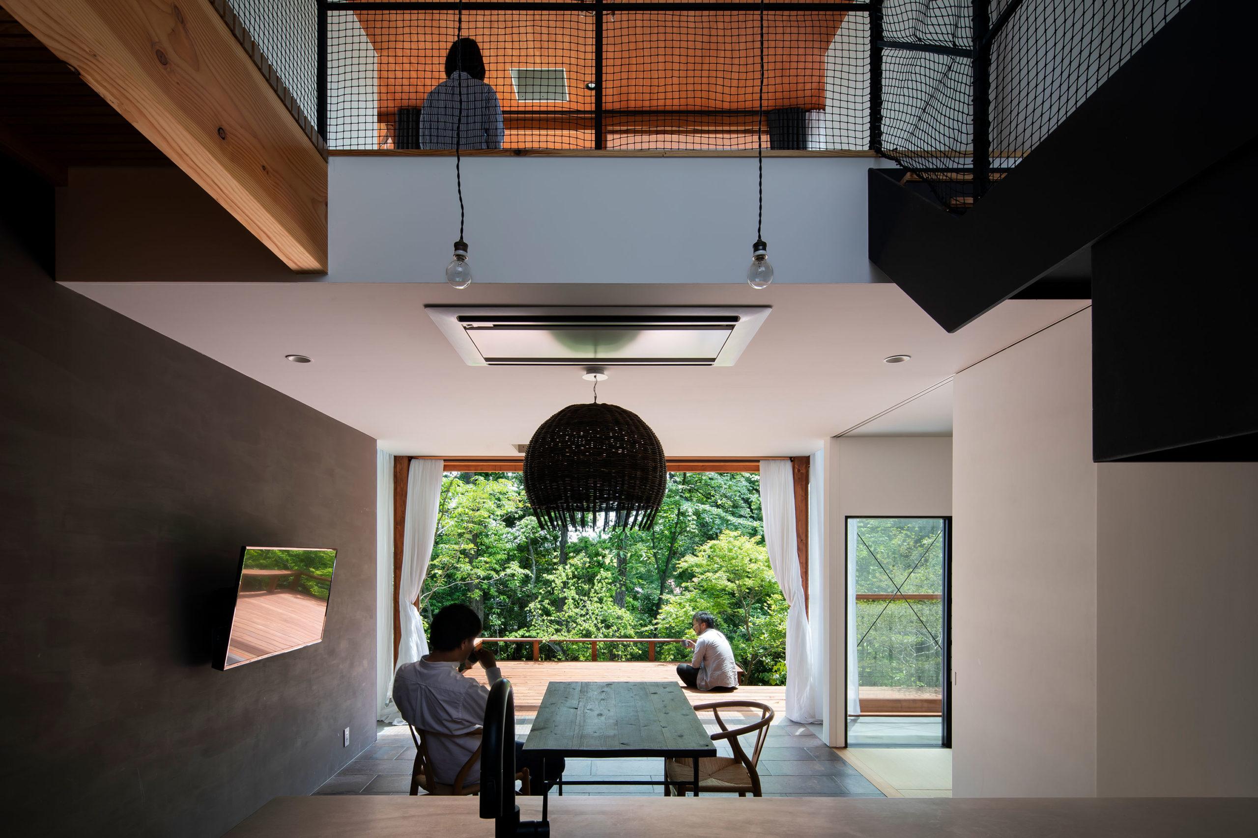 森に棲む家01 名古屋市 Natureスペース施工事例
