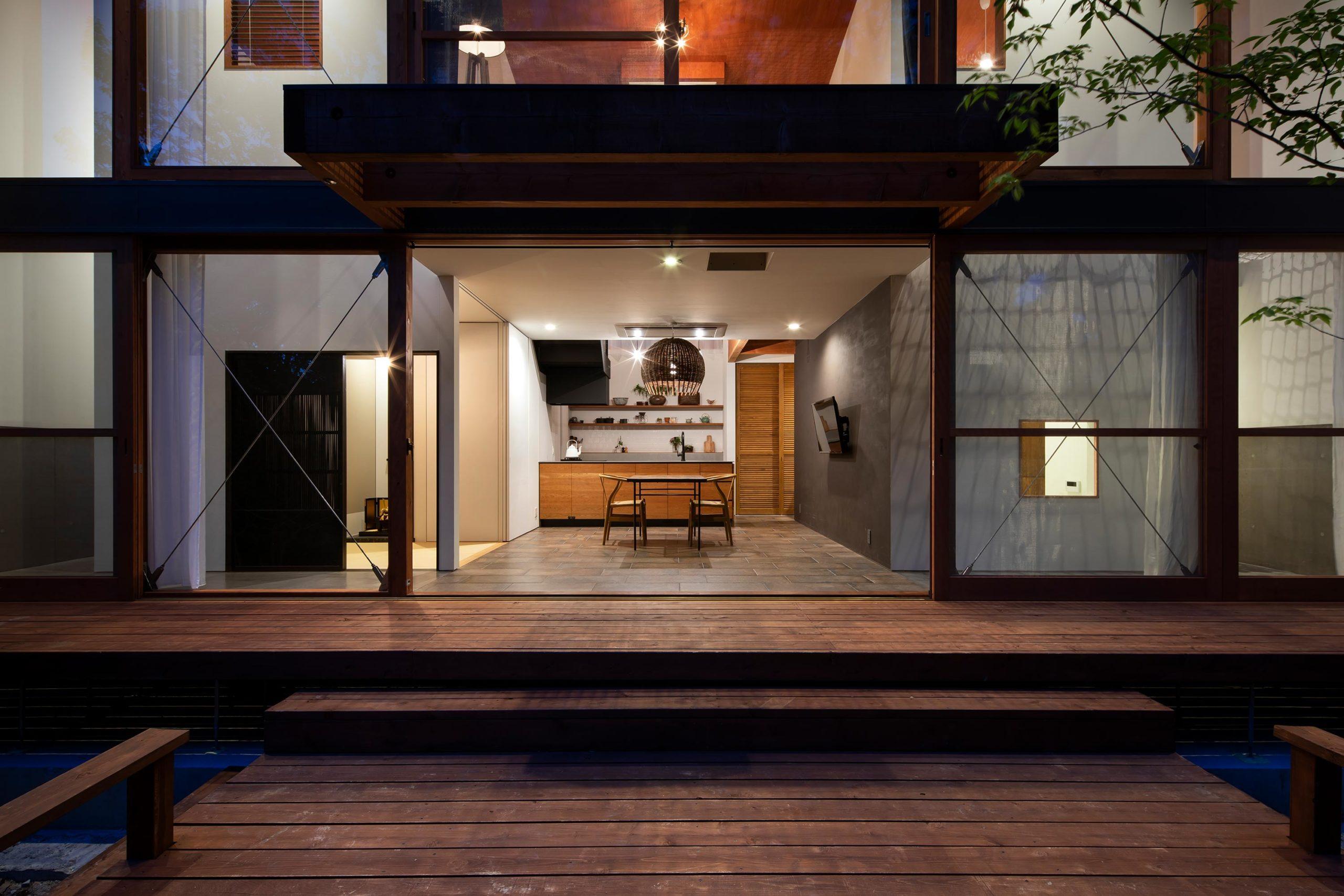 森に棲む家09 名古屋市 Natureスペース施工事例