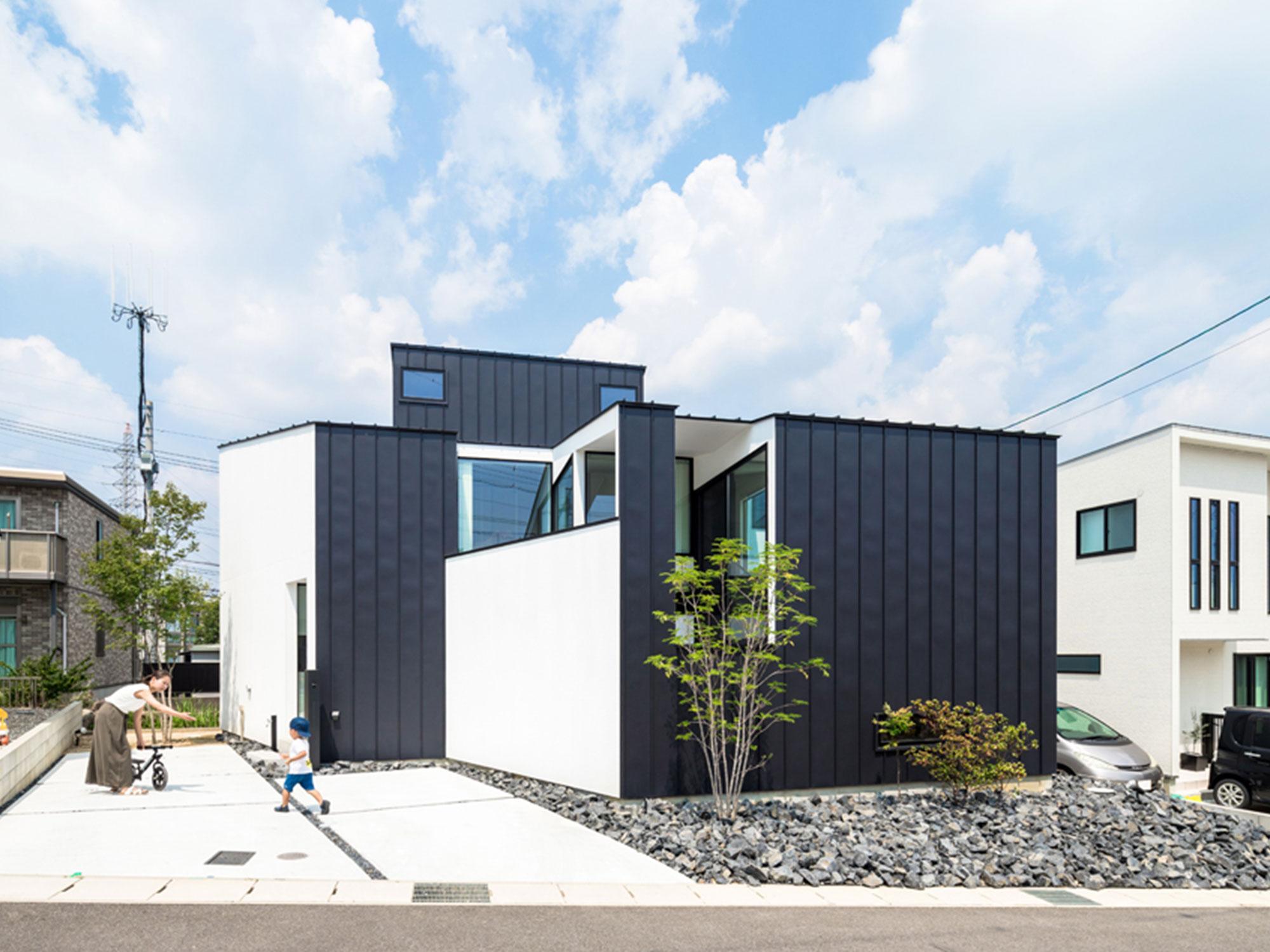 黒と白の家01|名古屋市|Natureスペース施工事例