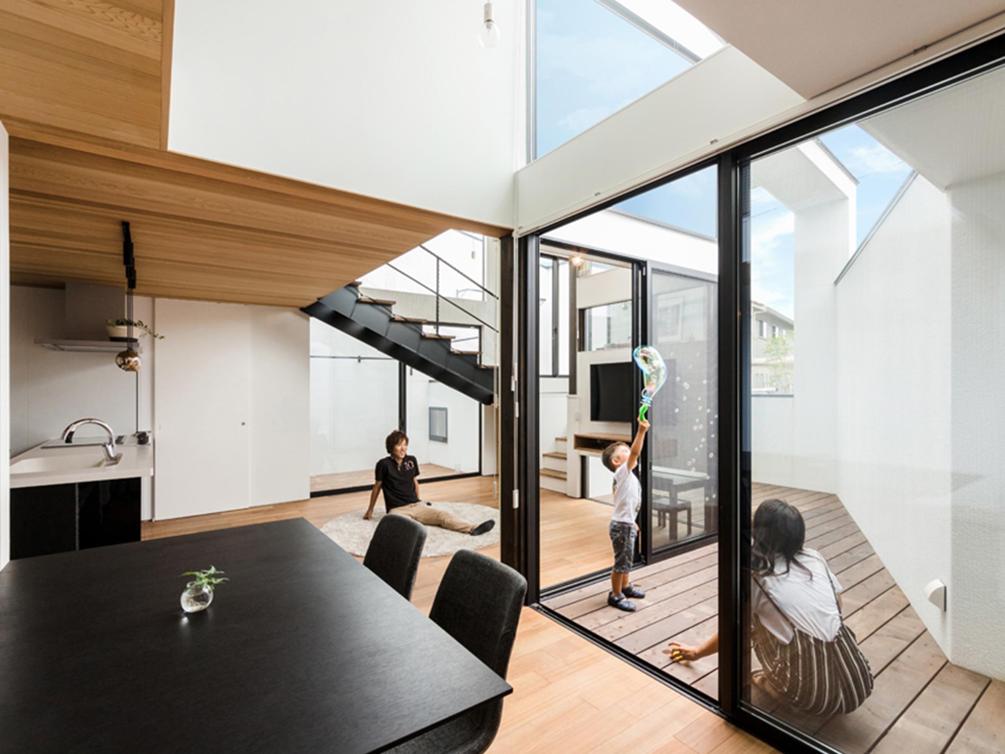 黒と白の家05|名古屋市|Natureスペース施工事例