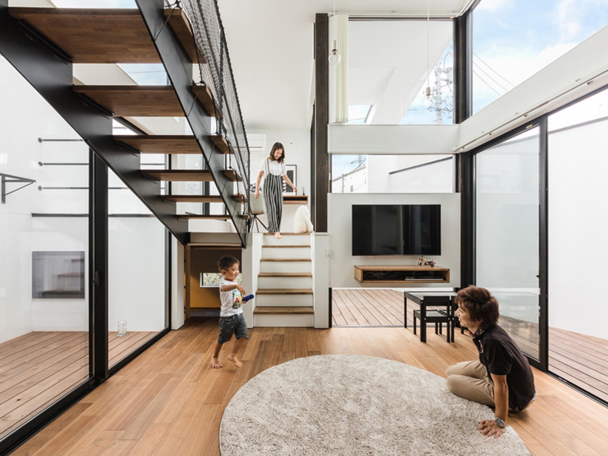 黒と白の家06|名古屋市|Natureスペース施工事例