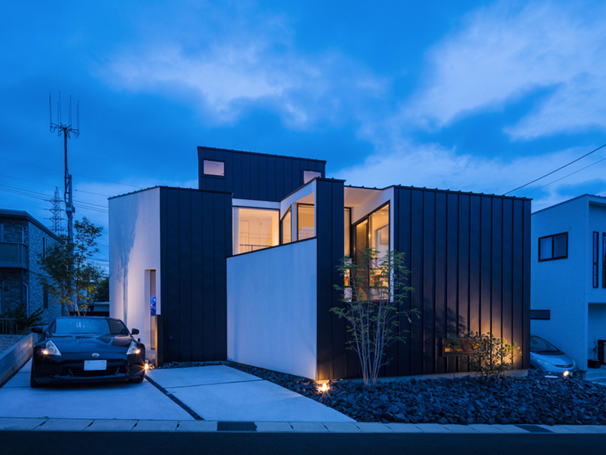 黒と白の家12|名古屋市|Natureスペース施工事例