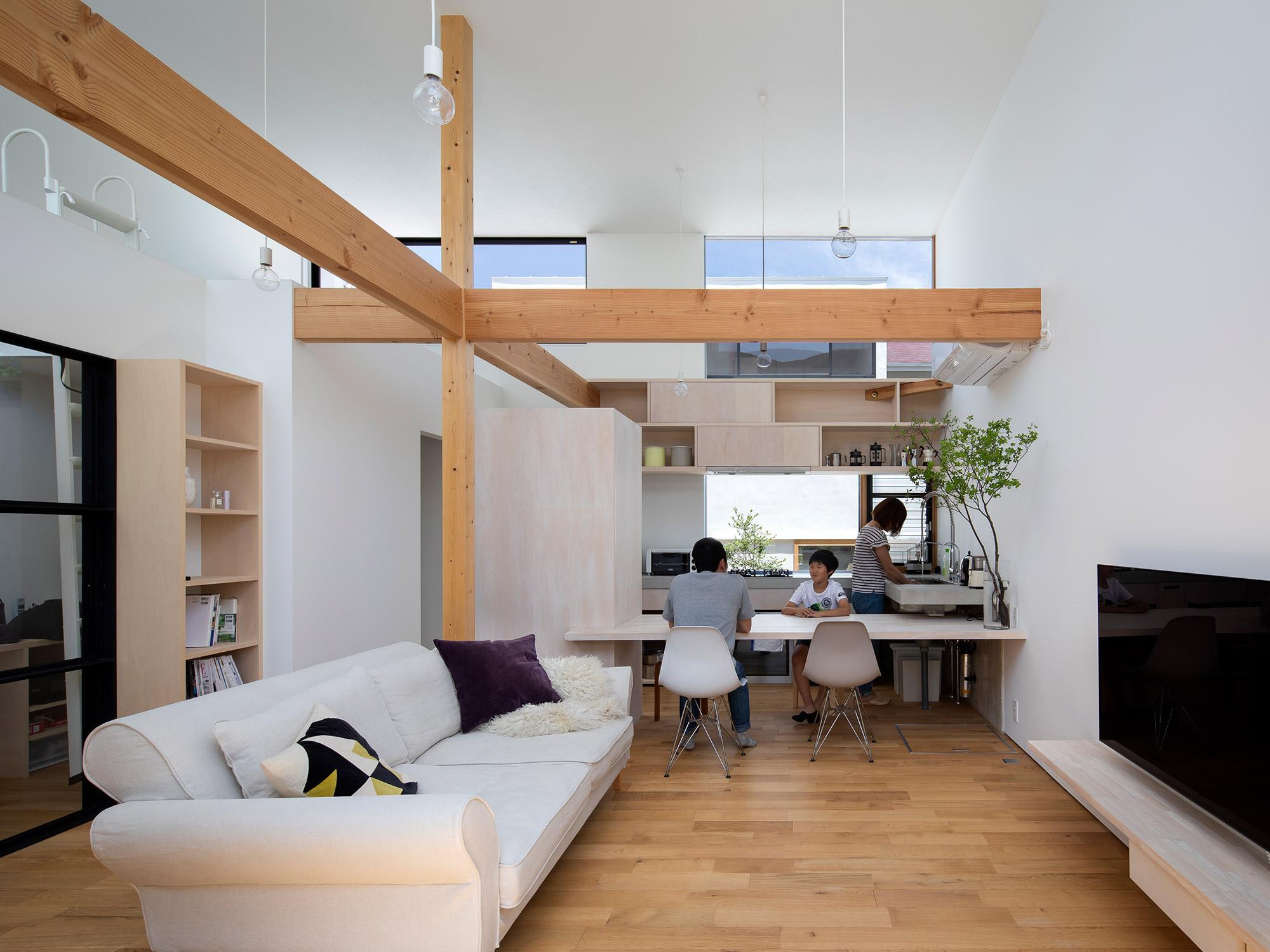 光の通う家06|名古屋市|Natureスペース施工事例