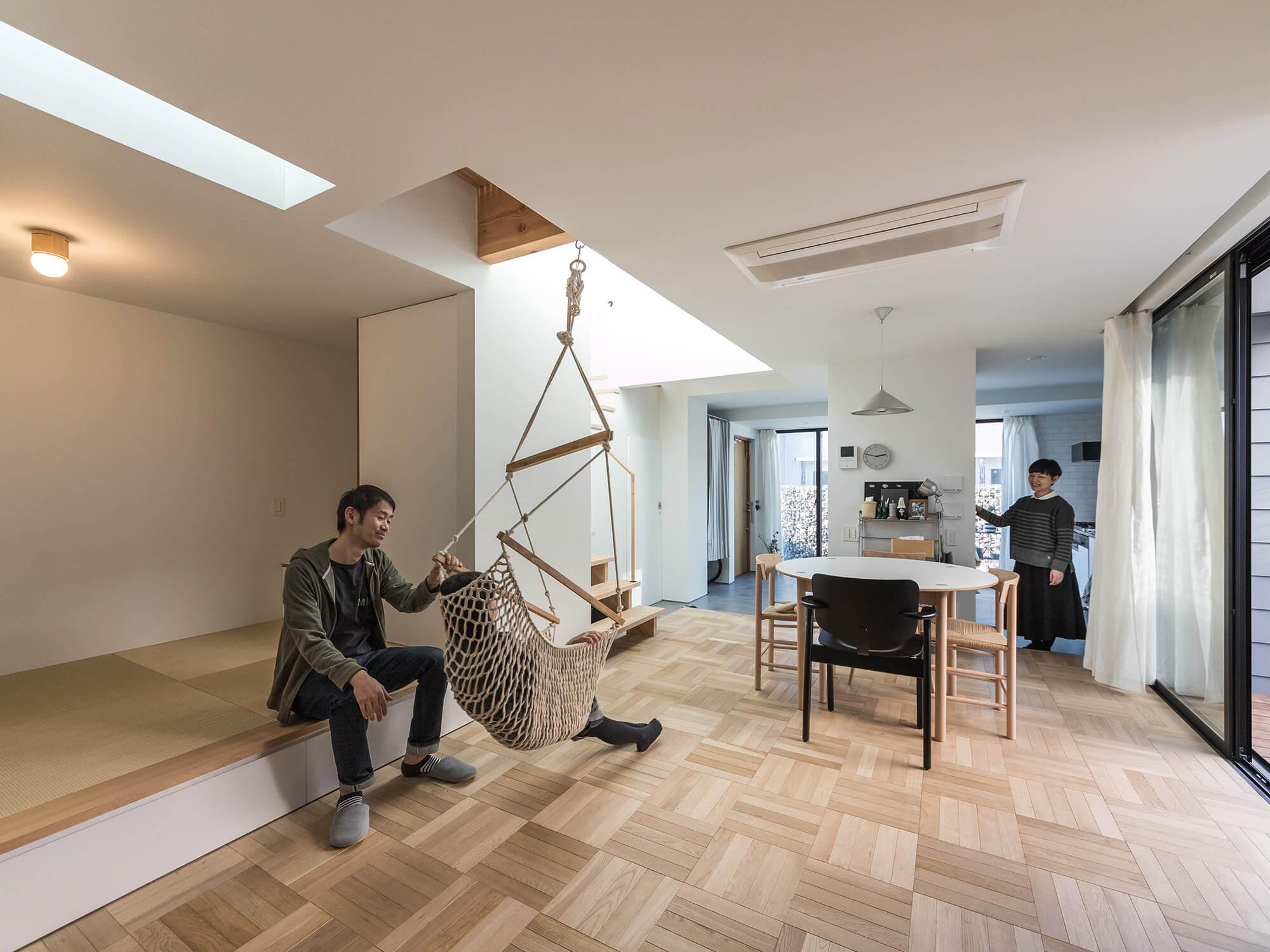 光の降る家04|名古屋市中村区|Natureスペース施工事例