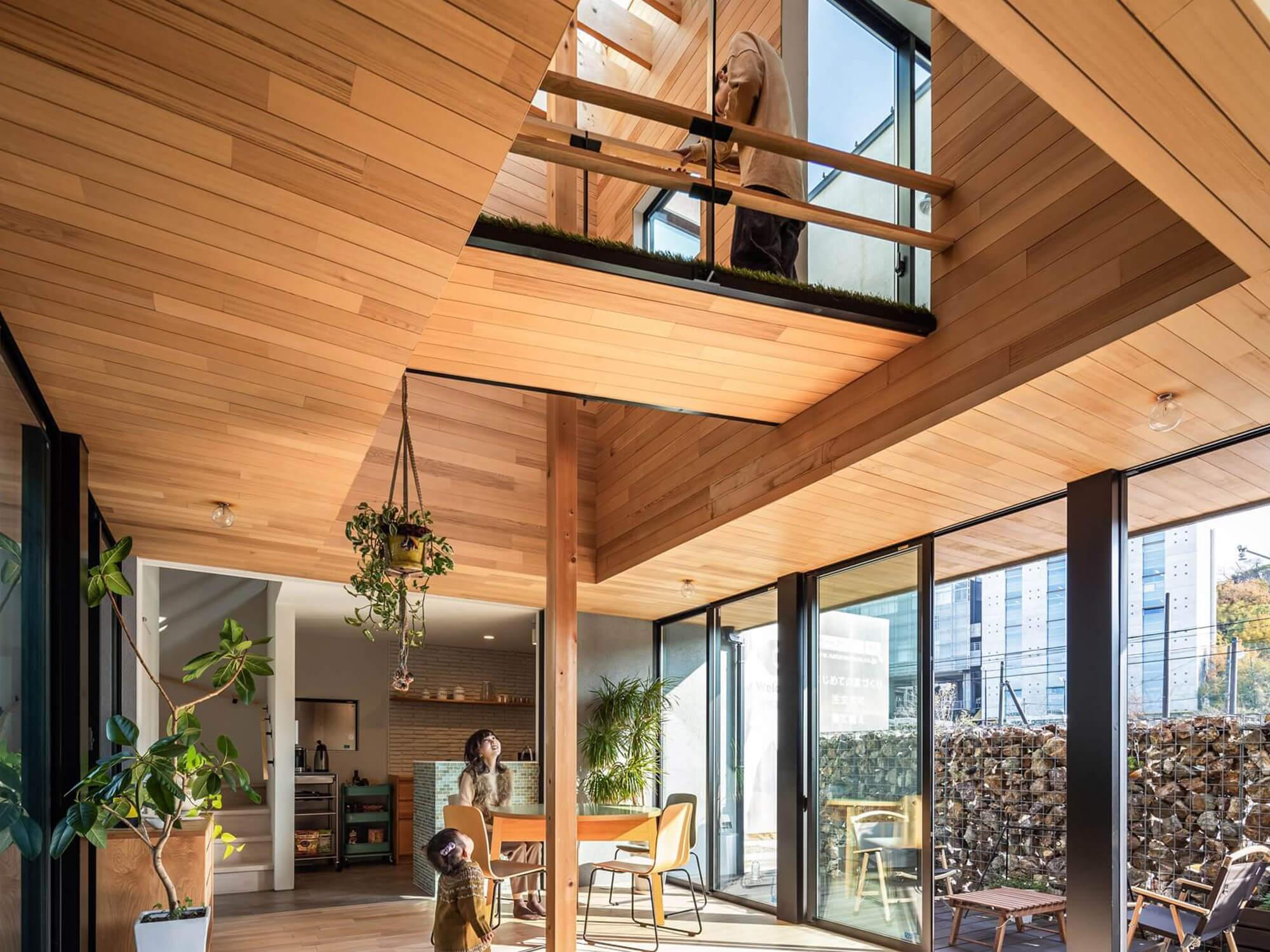 土間の家|日進市|Natureスペースモデルハウス2