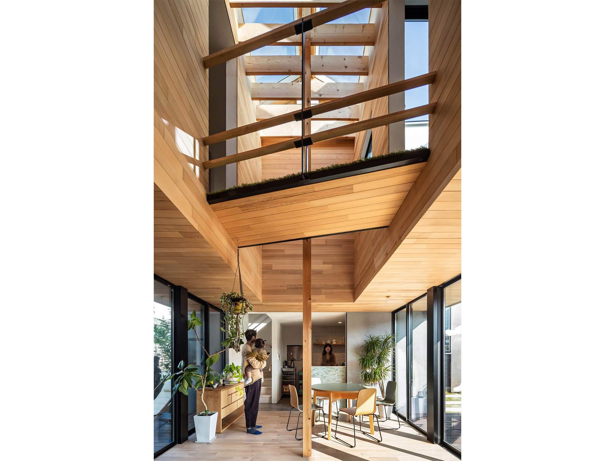 土間の家|日進市|Natureスペースモデルハウス4