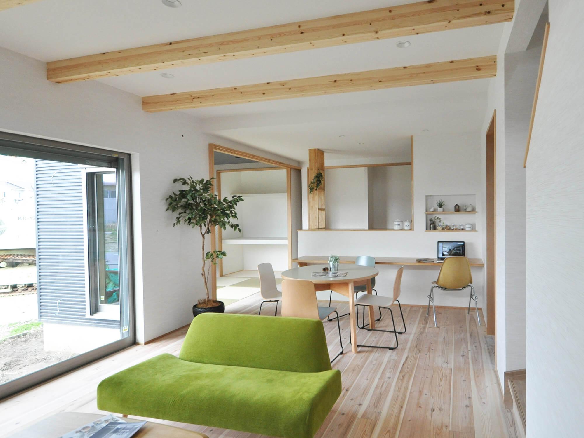 小木の家04|小牧市|Natureスペース施工事例