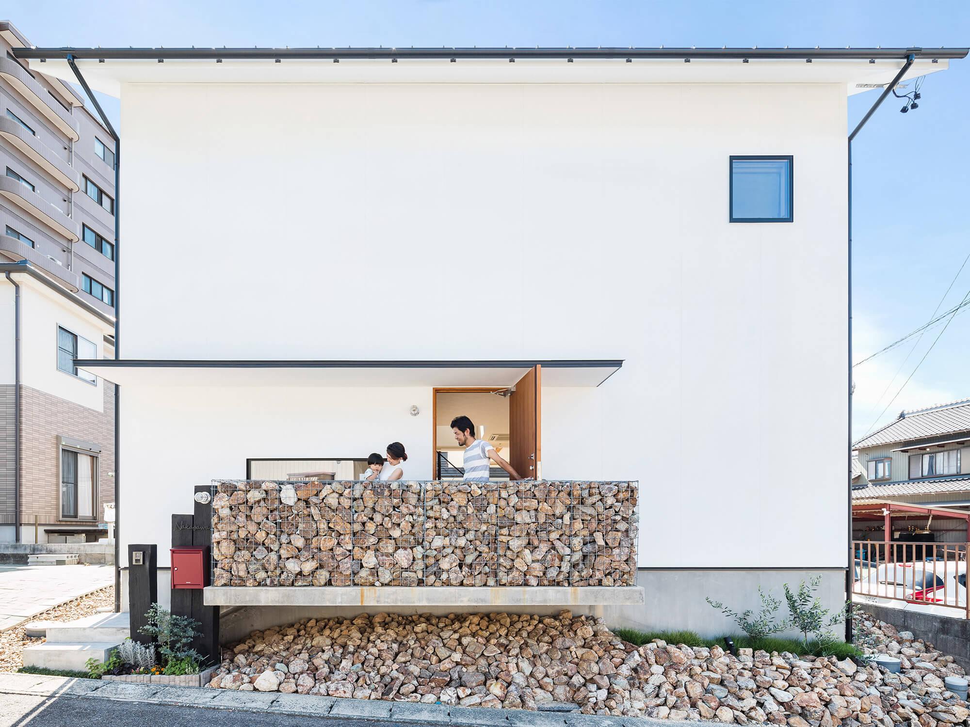 白壁の家01|愛知県日進市|Natureスペース施工事例