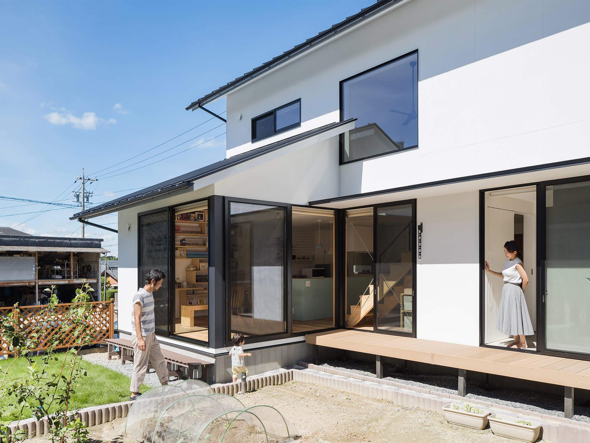白壁の家04|愛知県日進市|Natureスペース施工事例