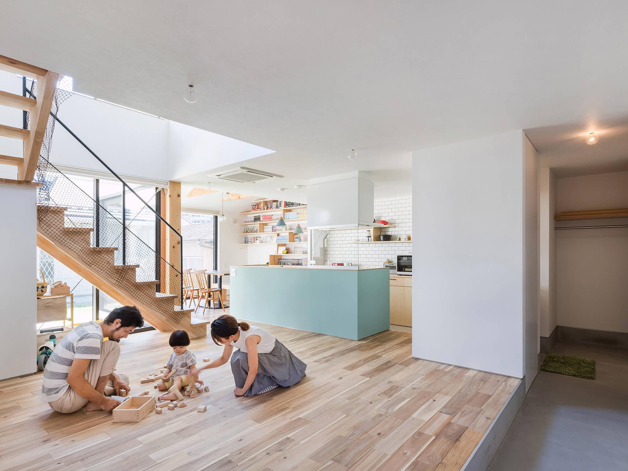 白壁の家07|愛知県日進市|Natureスペース施工事例