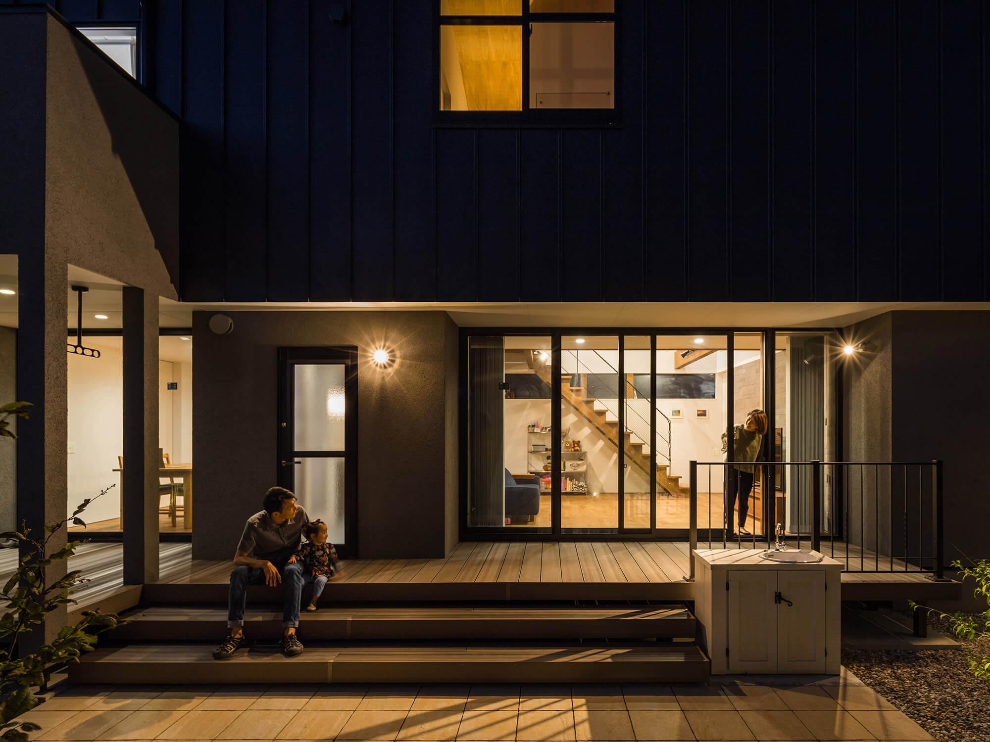 軒の繋がる家15|愛知県犬山市|Natureスペース施工事例