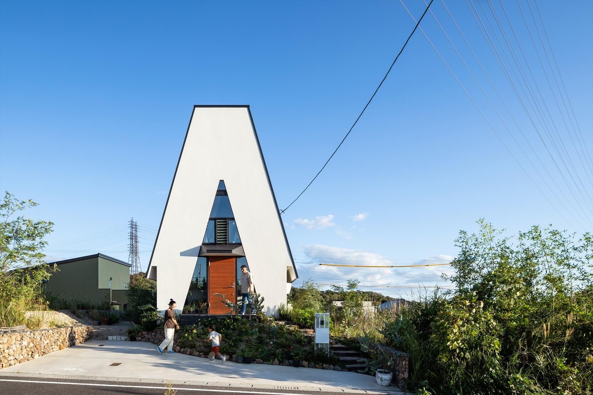 「三角の家」OB見学会開催