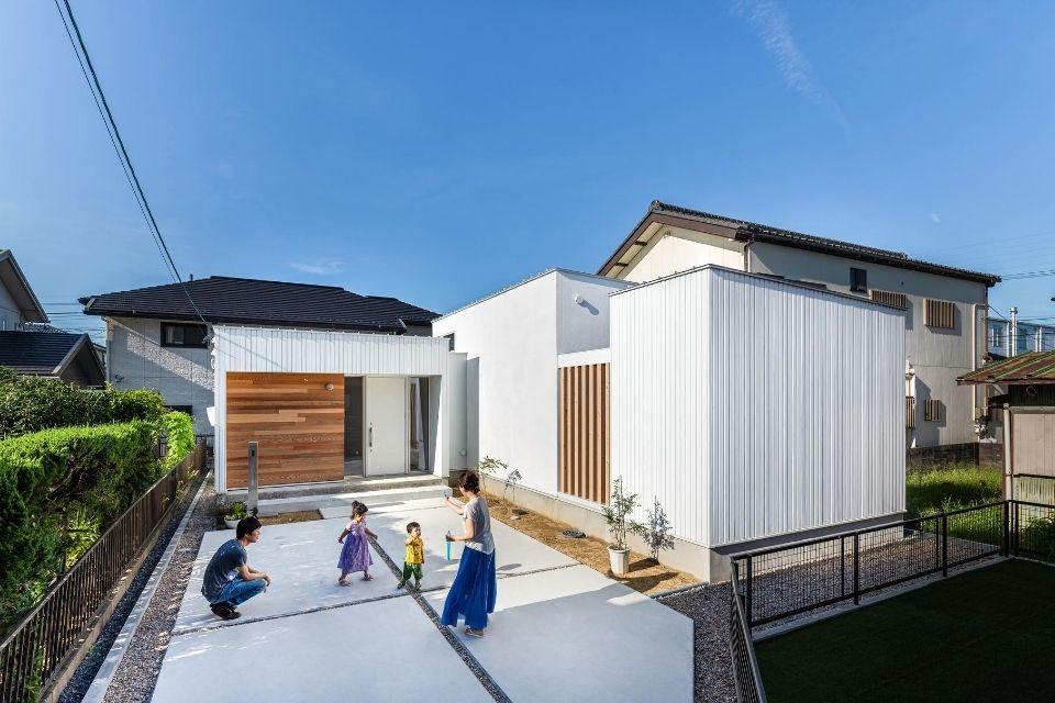 箱つなぎの家|施工事例|津島市の平屋01