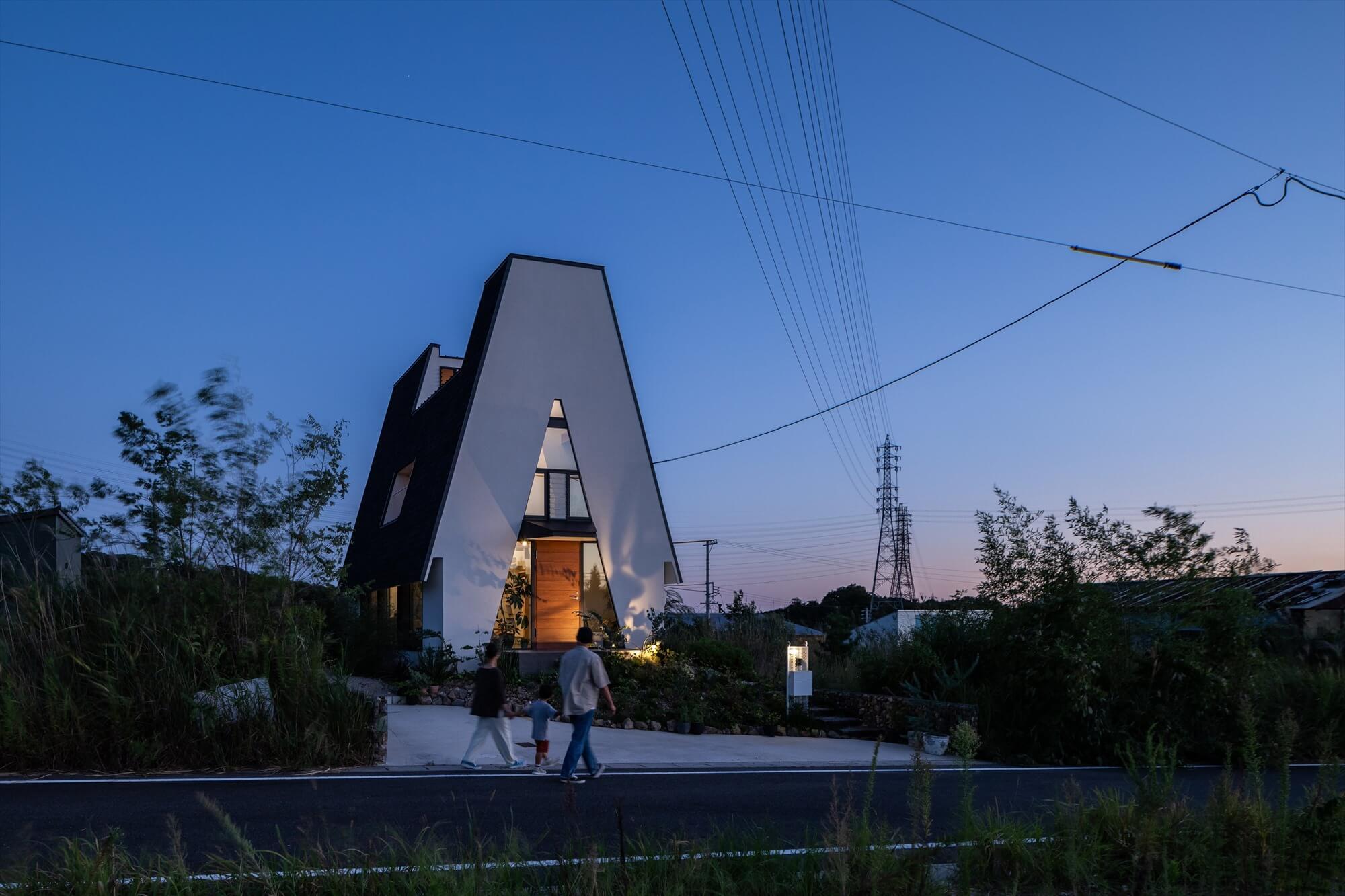 三角の家2|瀬戸市|Natureスペース施工事例