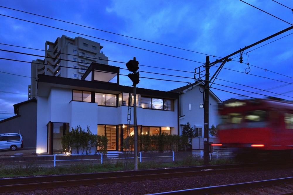 電車の通る家【完成見学会・北名古屋市】