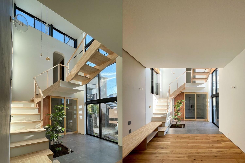 完成見学会|名古屋市瑞穂区|建築家と造る注文住宅