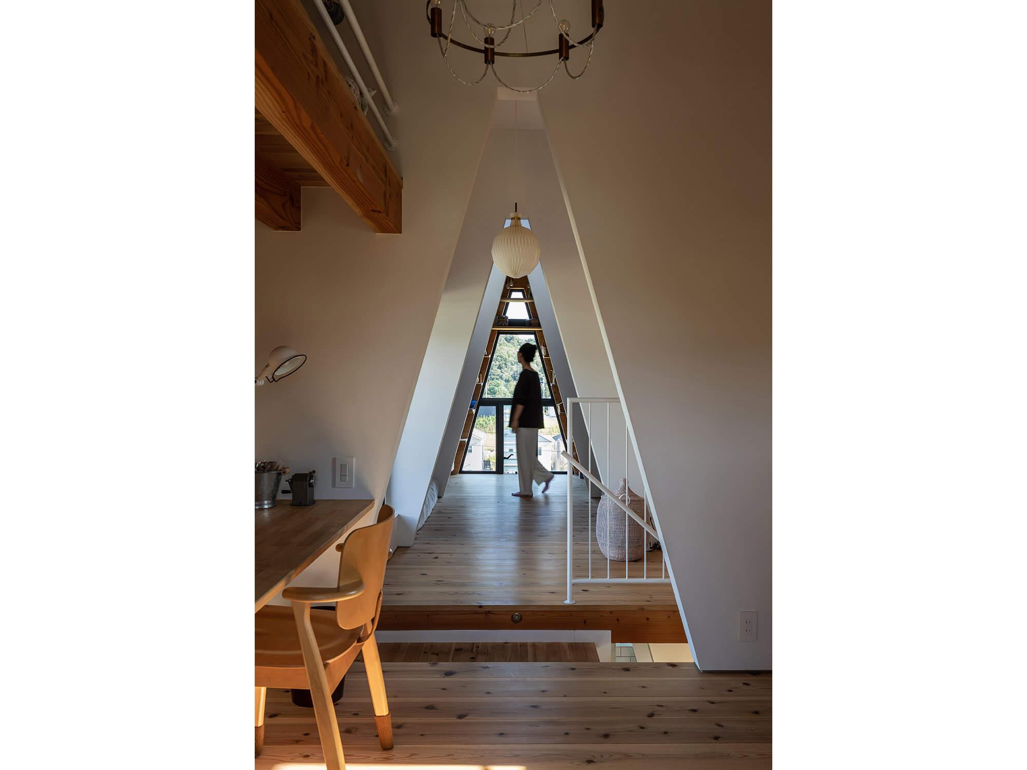 三角の家|建築家×工務店のNatureスペース施工事例|愛知県東郷町05