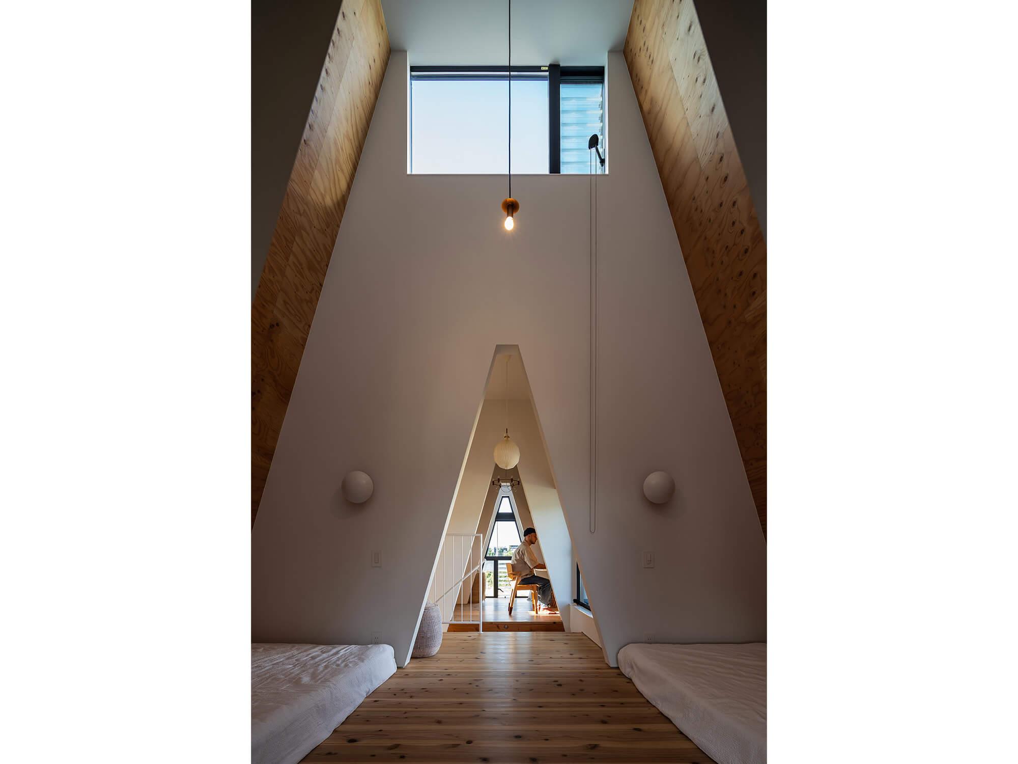 三角の家|建築家×工務店のNatureスペース施工事例|愛知県東郷町09