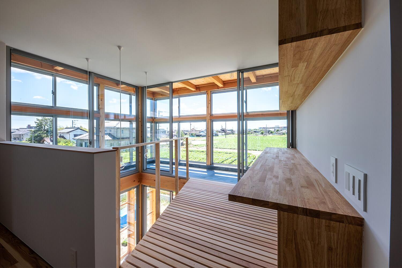完成見学会「サボテンの活きる家」扶桑町_建築家×工務店のNatureスペース02