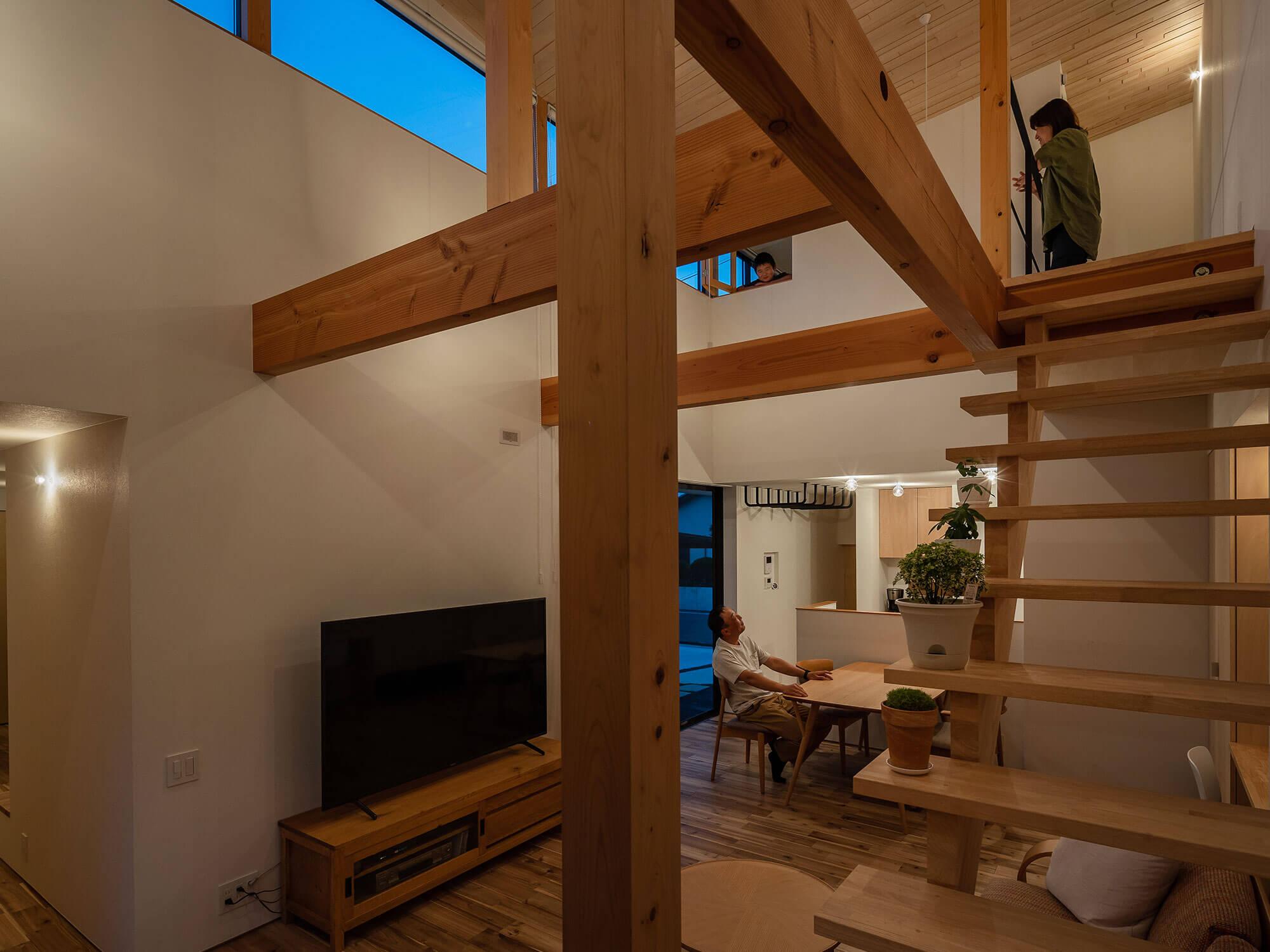 軒と縁側がつなぐ家08|犬山市の施工事例|建築家×工務店