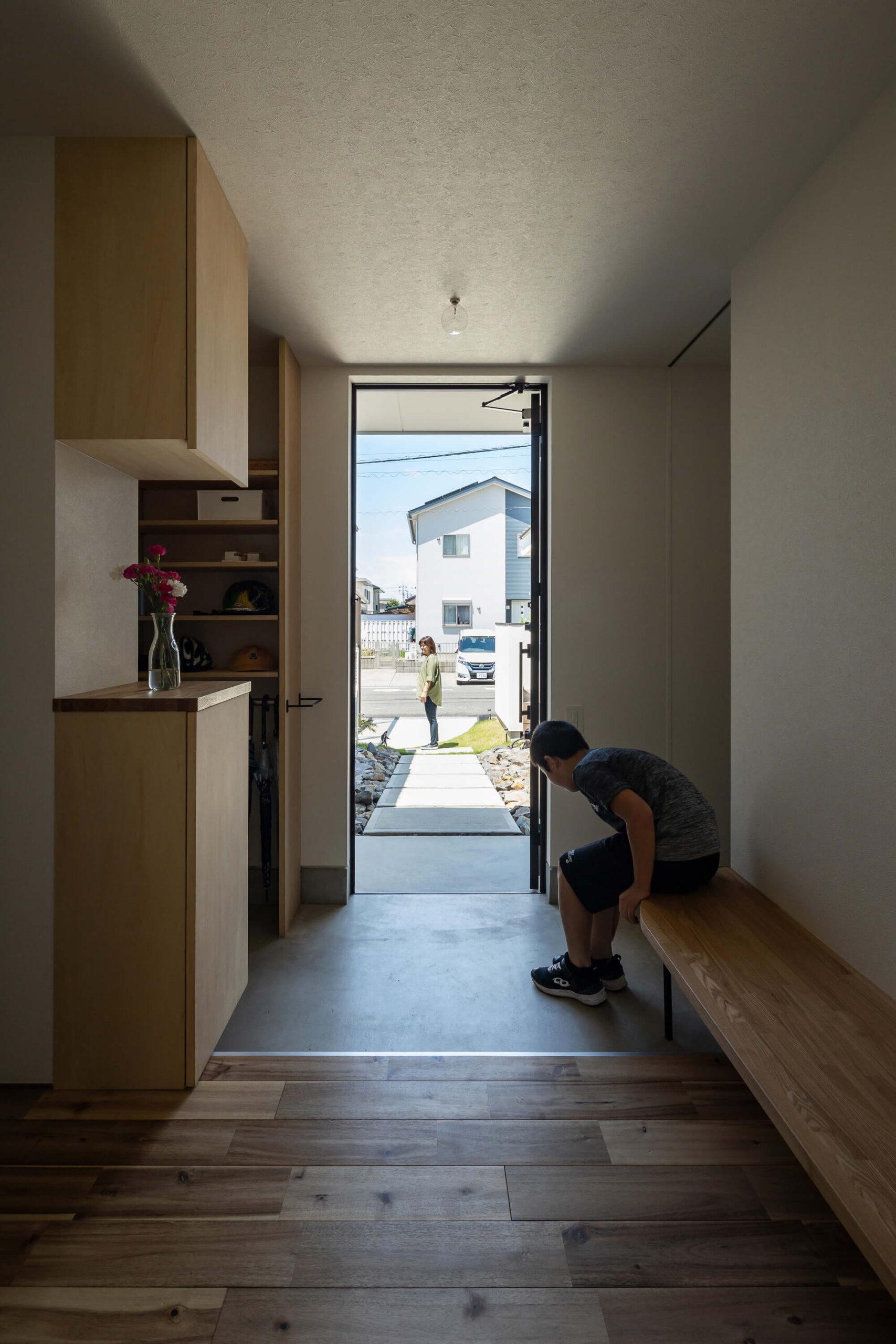 軒と縁側がつなぐ家12|犬山市の施工事例|建築家×工務店の注文住宅